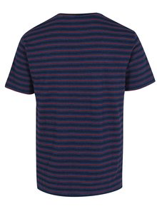 Tricou bleumarin cu model in dungi - ONLY & SONS Indigo