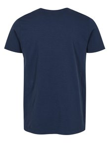 Tmavomodré melírované tričko Shine Original