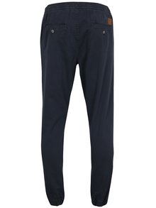 Pantaloni bleumarin sport cu talie elastica Shine Original
