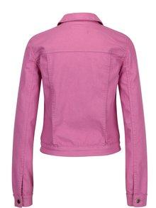 Jacheta scurta din denim roz ONLy Chris