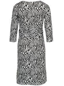 Čierno-biele vzorované šaty Mama.licious Zebra
