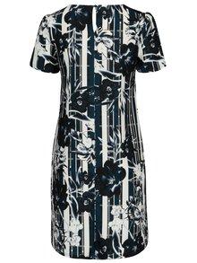 Bielo–modré kvetované šaty Dorothy Perkins