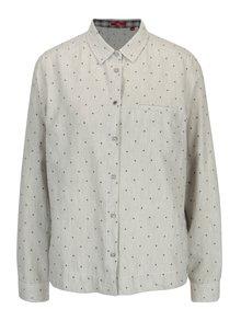 Camasa gri cu model buline pentru femei - s.Oliver
