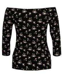 Bluza cu decolteu pe umeri si print - Haily's Racheline