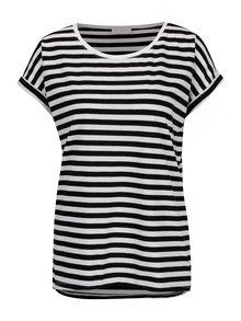Černo-bílé pruhované tričko VILA Dreamers