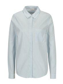 Modro-krémová pruhovaná košeľa VILA Chau
