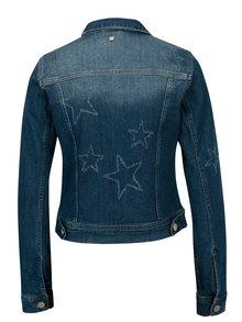 Jacheta albastra din denim - Rich & Royal