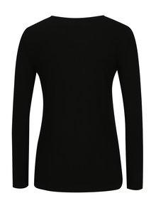 Bluza neagra cu buzunar fals si nasturi - TALLY WEiJL