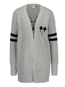Cardigan gri cu Mickey Mouse - TALLY WEiJL