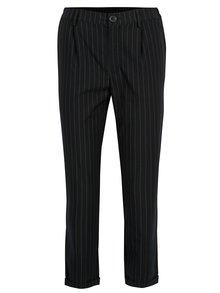 Pantaloni negri cu pense si dungi -  TALLY WEiJL