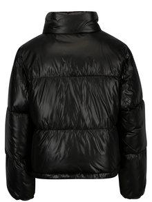 Čierna krátka prešívaná bunda TALLY WEiJL