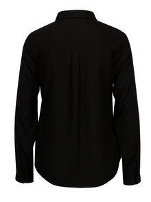 Camasa neagra cu buzunare si maneci ajustabile - TALLY WEiJL