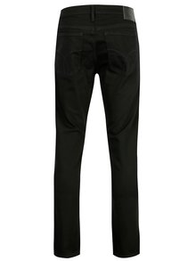 Čierne pánske straight rifle Calvin Klein Jeans