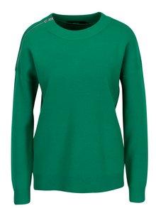 Zelený svetr se zipem VERO MODA Julie