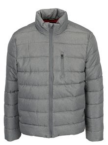 Geaca gri matlasata de iarna  Burton Menswear London