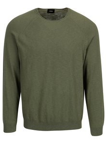 Pulover verde clasic  Burton Menswear London