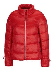 Červená prešívaná zimná bunda VERO MODA Ramona