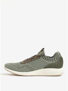 Pantofi sport gri-verzui - Tamaris