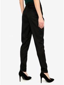 Pantaloni negri conici cu talie inalta MISSGUIDED
