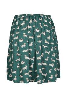 Zelená vzorovaná sukně Cath Kidston