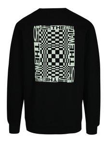 Černá pánská mikina s potiskem Vans New Checker
