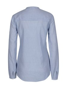 Modrá košeľa s výšivkou a flitrami Desigual Baixinha