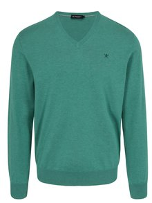 Pulover verde  - Hackett London