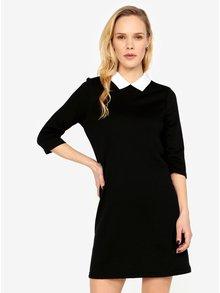 Černé šaty s límečkem ONLY Sunny