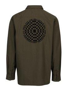 Khaki pánská košile s motivem Vans Arlington