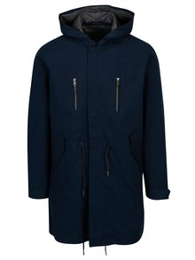 Tmavomodrá parka Selected Homme James