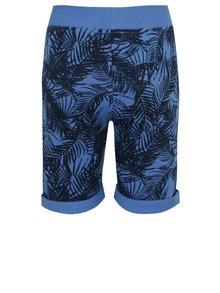 Modré chlapčenské vzorované kraťasy Blue Seven