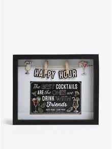 Černý fotorámeček SIFCON Happy Hour