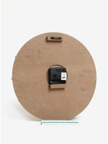 Hnedé drevené hodiny SIFCON