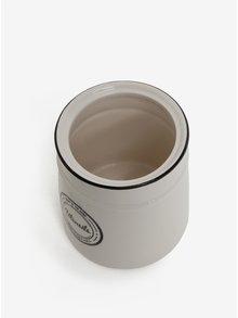 Recipient alb din ceramica pentru ustensile - SIFCON