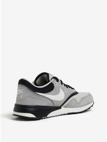 Černo-šedé pánské tenisky se semišovými detaily Nike Air Odyssey