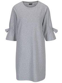 Světle šedé žíhané šaty Broadway Trixie