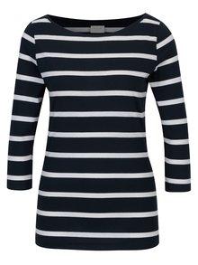 Tmavomodré pruhované tričko VILA Striped