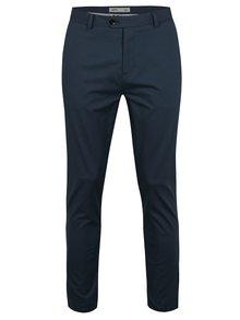 Modré slim fit nohavice Burton Menswear London