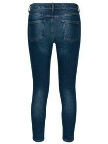 Tmavě modré zkrácené skinny džíny Dorothy Perkins