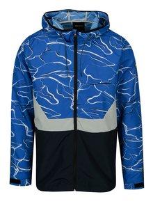 Jacheta subtire albastru&alb cu print - ONLY & SONS Garman