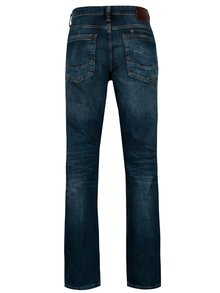 Tmavomodré pánske straight fit rifle Cross Jeans Dylan