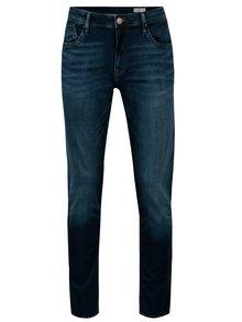 Blugi bleumarin regular fit cu aspect prespalat pentru barbati - Cross Jeans Jimi