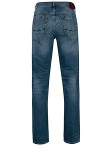 Modré pánske straight fit rifle Cross Jeans Antonio