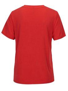 Červené voľné tričko ONLY Venus