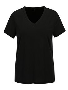 Tricou negru cu anchior ONLY Venus