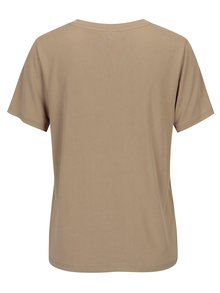 Béžové voľné tričko ONLY Venus