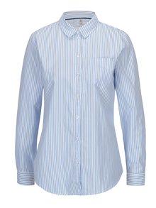 Bielo-modrá pruhovaná košeľa s náprsným vreckom ONLY Lauren