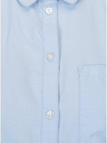 Svetlomodrá košeľa s náprsným vreckom ONLY Lauren
