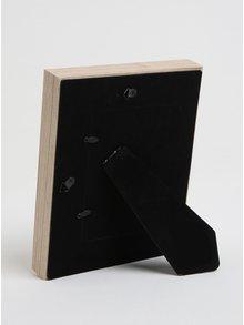 Hnedý drevený fotorám Kaemingk