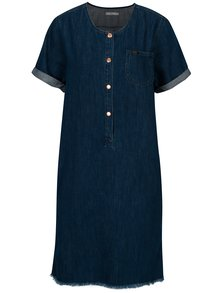Rochie albastra din denim cu nasturi - Lee Seasonal